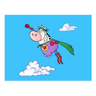 Carte Postale Bande dessinée superbe de vache