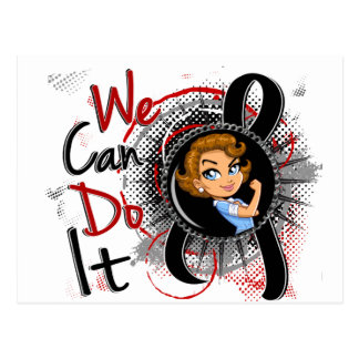 Carte Postale Bande dessinée WCDI.png de Rosie de cancer de la