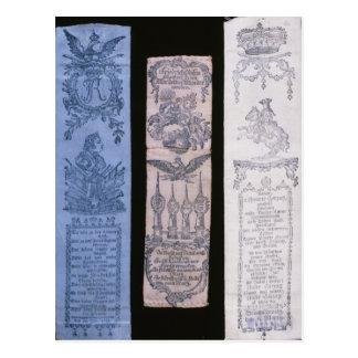 Carte Postale Bandes de Vivat de Frederick II