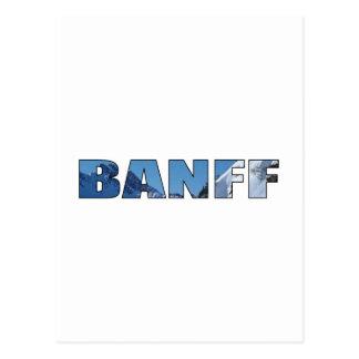 Carte Postale Banff
