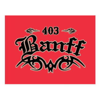 Carte Postale Banff 403