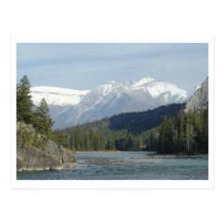Carte Postale Banff Alberta Canada