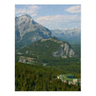 Carte Postale Banff Canada