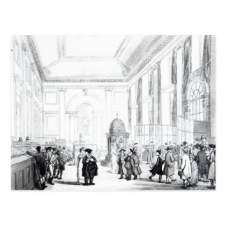 Carte Postale Banque d'Angleterre, Grand hall, d'Ackermann