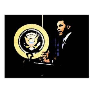 Carte Postale Barack Obama