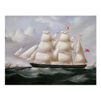 "Carte Postale Barque de tondeuse ""Procymatia"" outre de Douvres"