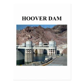 Carte Postale barrage d'aspirateur