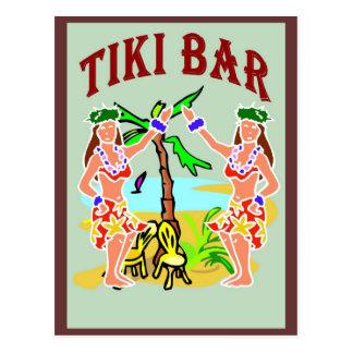 Carte Postale Barre de Tiki