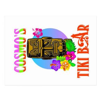 Carte Postale Barre de Tiki de Cosmo