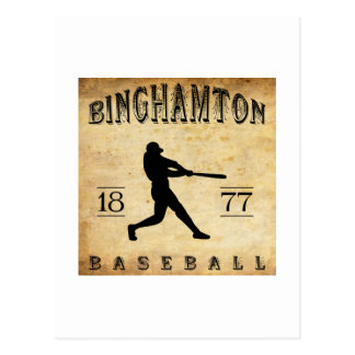 Carte Postale Base-ball 1877 de Binghamton New York
