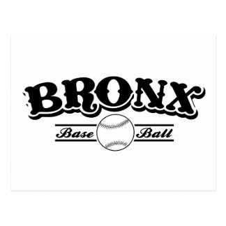 Carte Postale Base-ball de Bronx