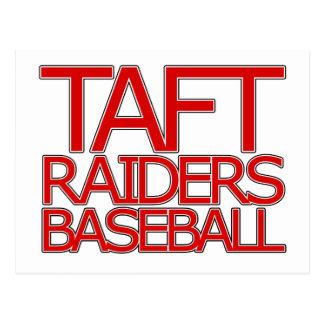 Carte Postale Base-ball de voleurs de Taft - San Antonio