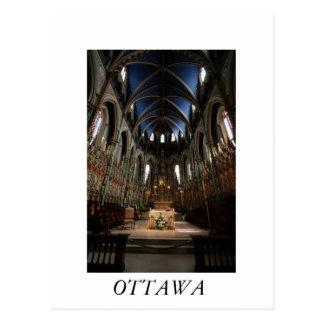 Carte Postale Basilique de cathédrale de Notre-Dame