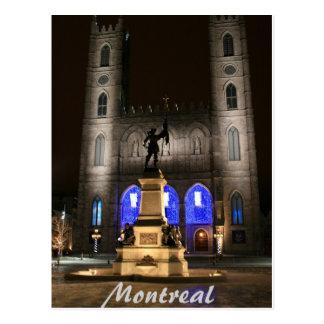 Carte Postale Basilique de Montréal Notre-Dame