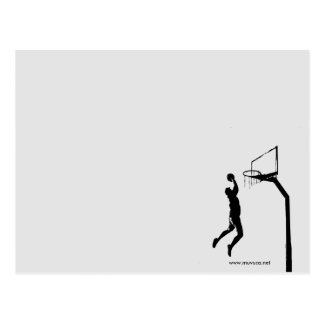 CARTE POSTALE BASKET-BALL