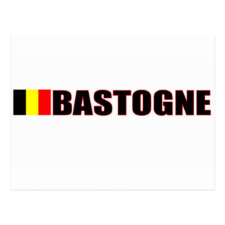 Carte Postale Bastogne, Belgique
