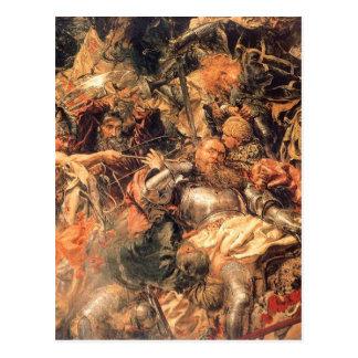 Carte Postale Bataille de Grunwald (détail) avant janvier
