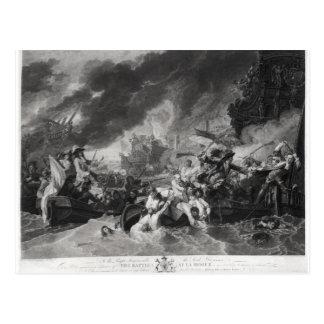 Carte Postale Bataille de la Haye, le 29 mai 1692