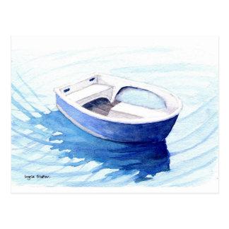 Carte Postale Bateau d'aviron