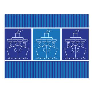 Carte Postale Bateau de croisière