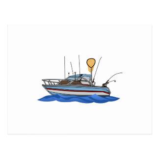 Carte Postale Bateau de pêche