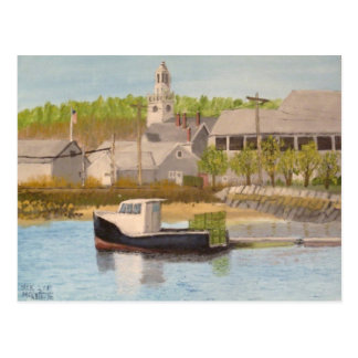 Carte Postale Bateau de pêche - Massachusetts de Rockport