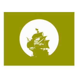 Carte Postale Bateau de pirate