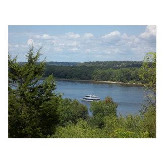 Carte Postale Bateau du fleuve Mississippi