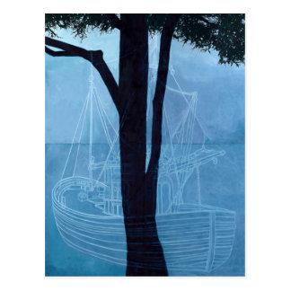 Carte Postale Bateau un 2012 de fantôme