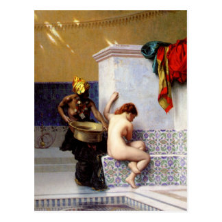 Carte Postale Bath maure par Jean-Léon Gerome