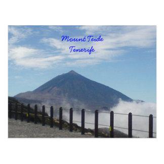 Carte Postale Bâti Teide, Ténérife