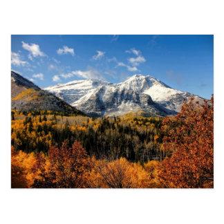 Carte Postale Bâti Timpanogos en montagnes de l'Utah d'automne