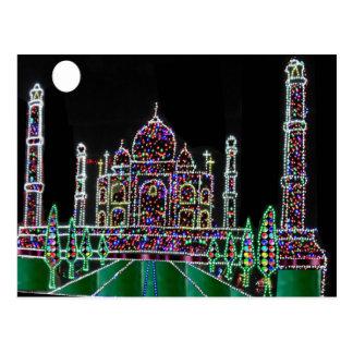 Carte Postale Bâtiment commémoratif de point de repère de Mughal