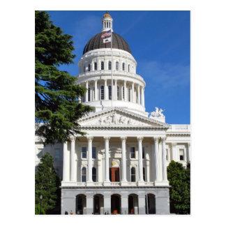 Carte Postale Bâtiment de capitol d'état de CA - Sacramento