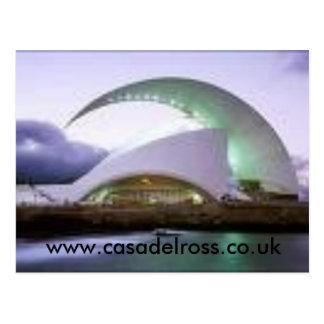 Carte Postale bâtiment, www.casadelross.co.uk