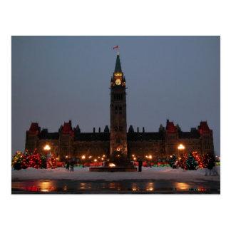 Carte Postale Bâtiments du Parlement, Ottawa