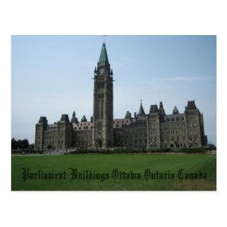 Carte Postale Bâtiments Ottawa Ontario Canada du Parlement