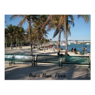 Carte Postale Bayside Miami, la Floride