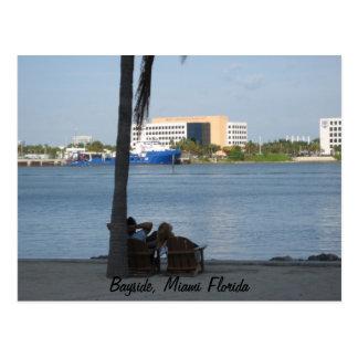 Carte Postale Bayside, Miami la Floride
