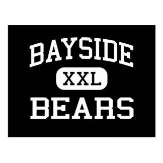 Carte Postale Bayside - ours - lycée - baie la Floride de paume