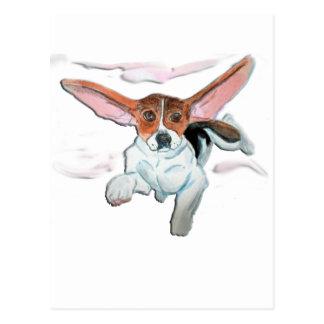 Carte Postale Beagle superbe