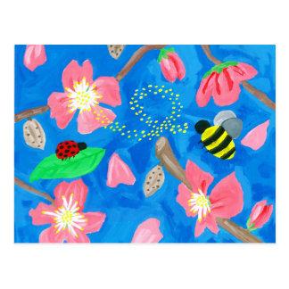 Carte Postale Beauté de floraison