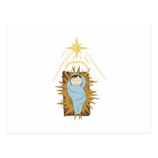 Carte Postale Bébé Jésus