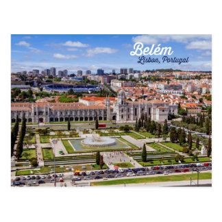 Carte Postale Belém, Lisbonne, Portugal