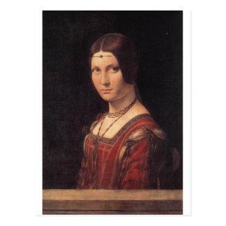 Carte Postale Belle Ferronniere de La par Leonardo da Vinci