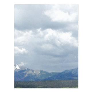 Carte Postale Belle montagne des Rocheuses