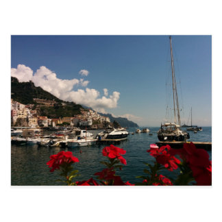 Carte Postale Belle photographie de la côte d'Amalfi, Italie