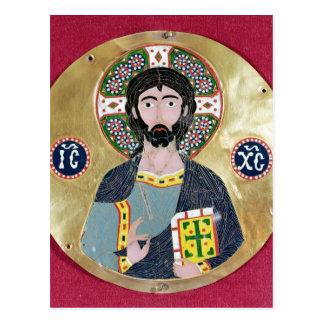 Carte Postale Bénédiction du Christ, 10ème-11ème siècle