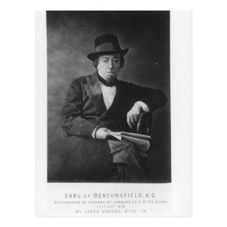 Carte Postale Benjamin Disraeli, ęr comte de Beaconsfield