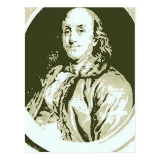 Carte Postale Benjamin Franklin